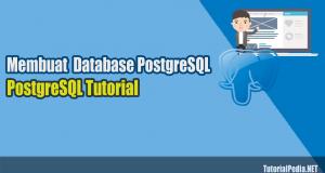 membuat database baru postgresql